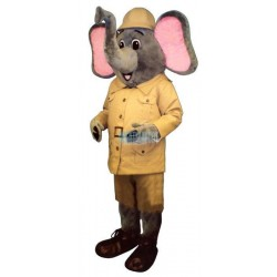 Safari Elephant Lightweight Mascot Costume