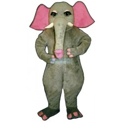 Girl Elephant Lightweight Mascot Costume