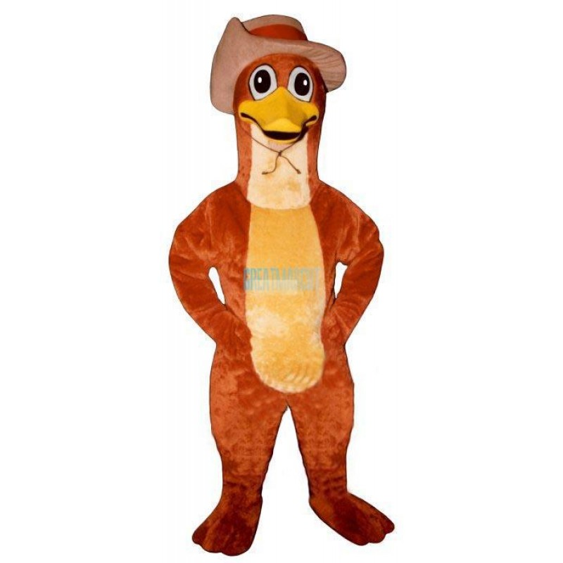 Perry Platypus w-Hat Lightweight Mascot Costume