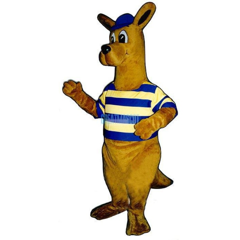 Rugby Roo Lightweight Mascot Costume