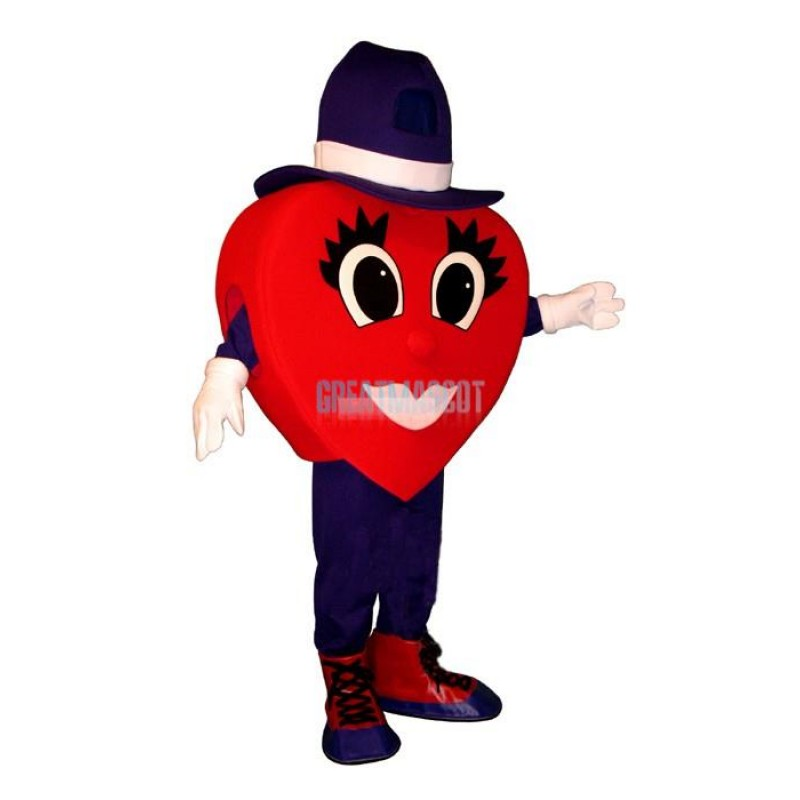 Madcap Walking Heart Lightweight Mascot Costume