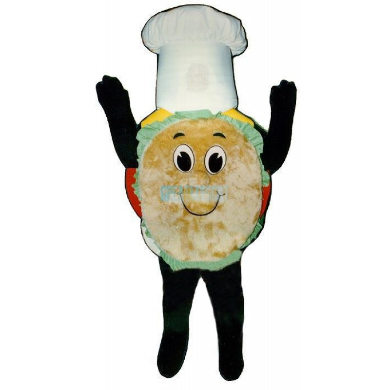 Madcap Hamburger Lightweight Mascot Costume