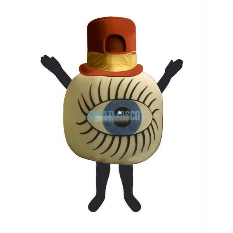 Crawling Eye Lightweight Mascot Costume
