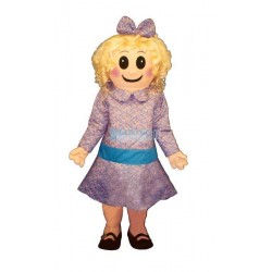 Satin Doll Lightweight Mascot Costume