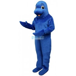Blue Fish Lightweight Mascot Costume