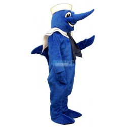Swordfish w-Hat & Collar Lightweight Mascot Costume