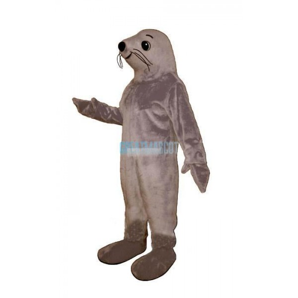 Grey Seal Lightweight Mascot Costume