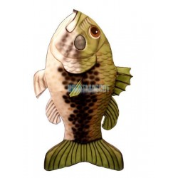 Large Mouth Bass Lightweight Mascot Costume