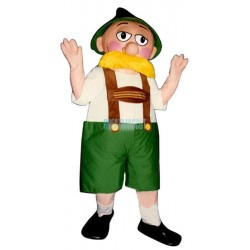 Alpine Man Lightweight Mascot Costume