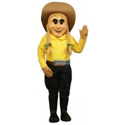 Cow Boy Lightweight Mascot Costume