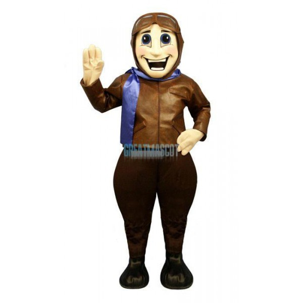Perry Pilot Lightweight Mascot Costume