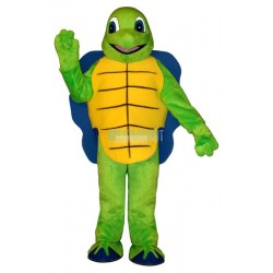 Blue Shell Turtle Lightweight Mascot Costume