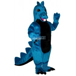 Blue Dino Lightweight Mascot Costume