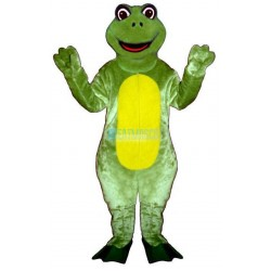 Happy Frog Lightweight Mascot Costume