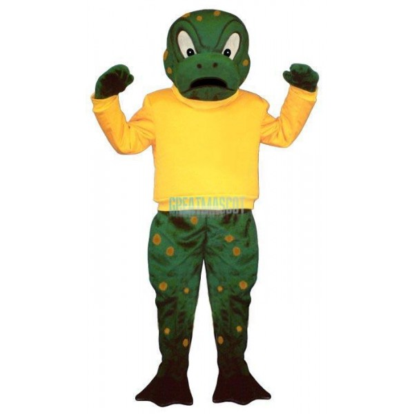 Tough Toad w-Shirt Lightweight Mascot Costume