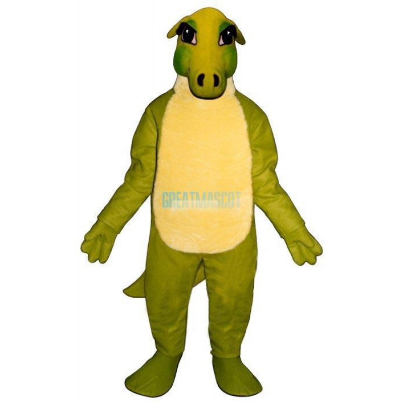 Friendly Dinosaur Lightweight Mascot Costume