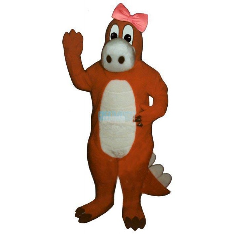 Ruby Begoniaw-Bow Lightweight Mascot Costume