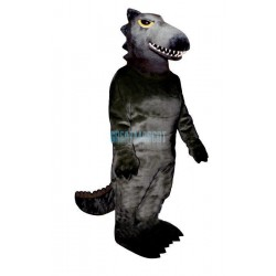 Black Dino Lightweight Mascot Costume