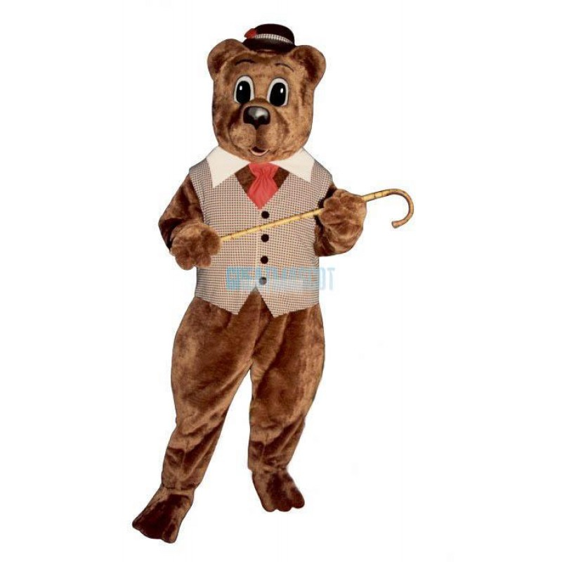 Pa Bear Lightweight Mascot Costume