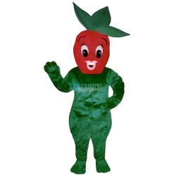 Sherry Strawberry Lightweight Mascot Costume
