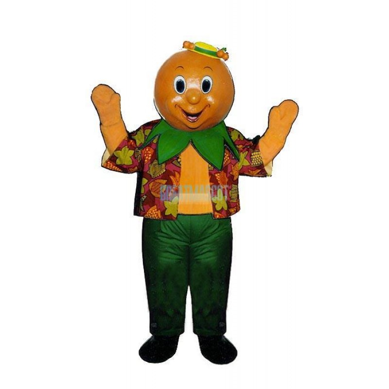 Orran Orange Lightweight Mascot Costume