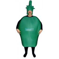 Green Pepper Lightweight Mascot Costume