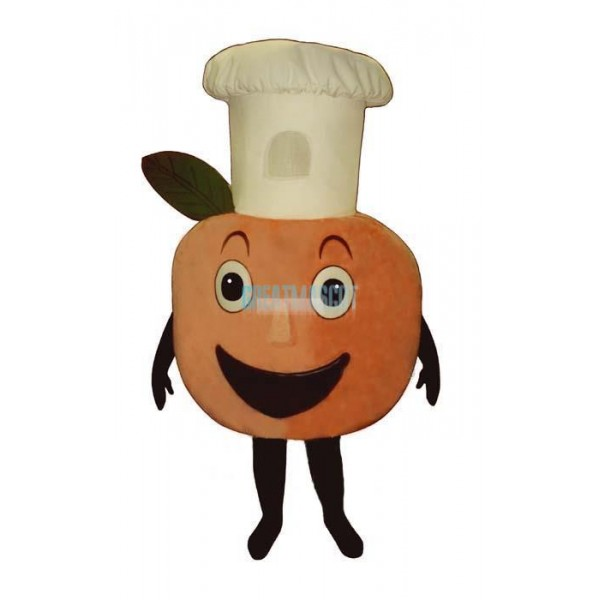 Baker Peach Lightweight Mascot Costume