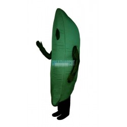 Green Bean Lightweight Mascot Costume