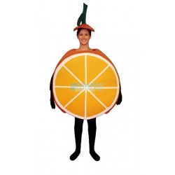 Sliced Orange Lightweight Mascot Costume