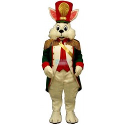 Colonel Wendall w-Green Coat & Hat Lightweight Mascot Costume