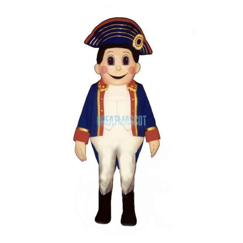 Colonial Boy Lightweight Mascot Costume