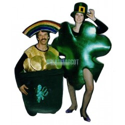 Pot O-Gold Lightweight Mascot Costume