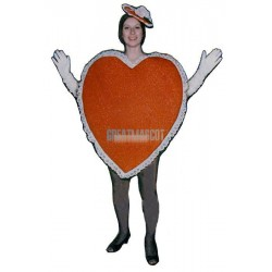 Heart Lightweight Mascot Costume