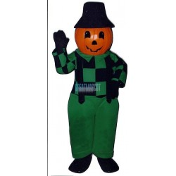 Blinkey Pumpkin Lightweight Mascot Costume