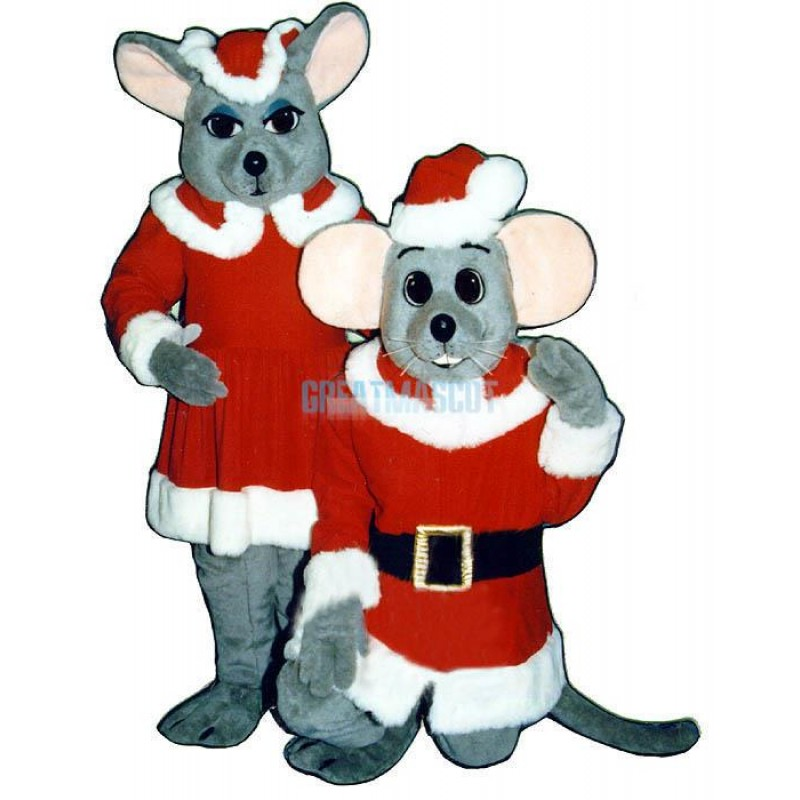 Merry Mouse Lightweight Mascot Costume