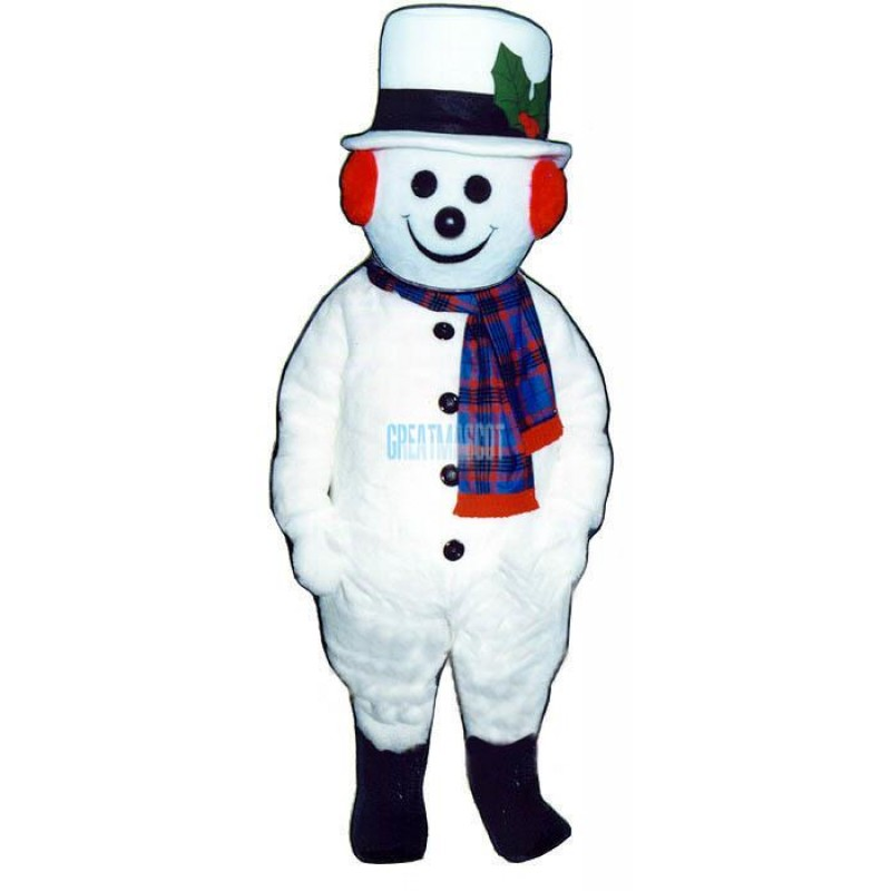 Jolly Snowman Lightweight Mascot Costume
