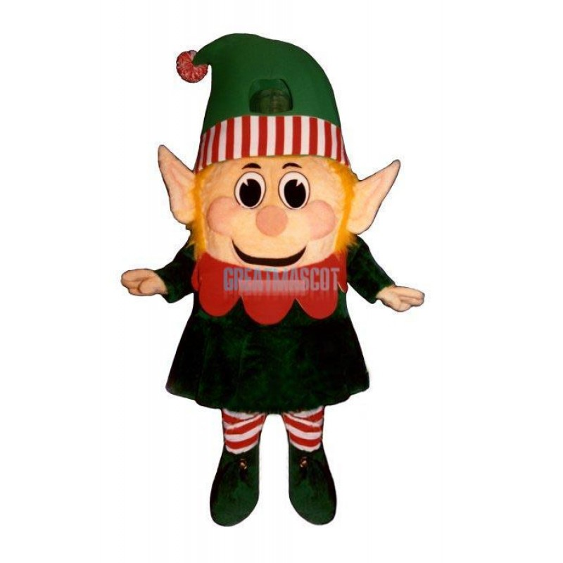 Madcap Girl Elf Lightweight Mascot Costume