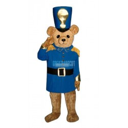 Soldier Bear Lightweight Mascot Costume
