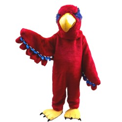 Top Quality Adult Cartoon Red Eagle Mascot Costume