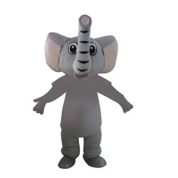 Free Shipping Cute Cartoon Elephant Mascot Costume