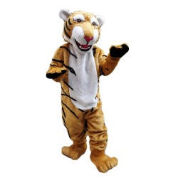 Top Sale Fancy Tiger With Smiling Face Mascot Costume