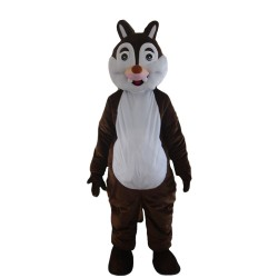 New Version Pleasant Plush Brown Squirrel Mascot Costume