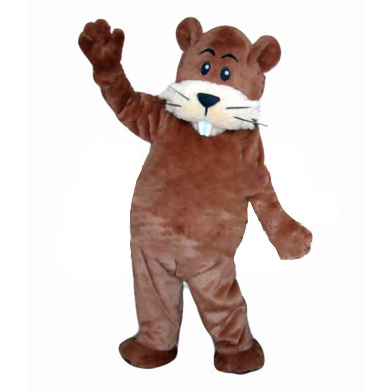 Funny Cute Beaver Mascot Costume For Adult To Wear