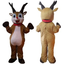 Adult Size Funny Reindeer Mascot Costume