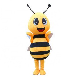 Top Sale Smart Smiling Bee Mascot Costume