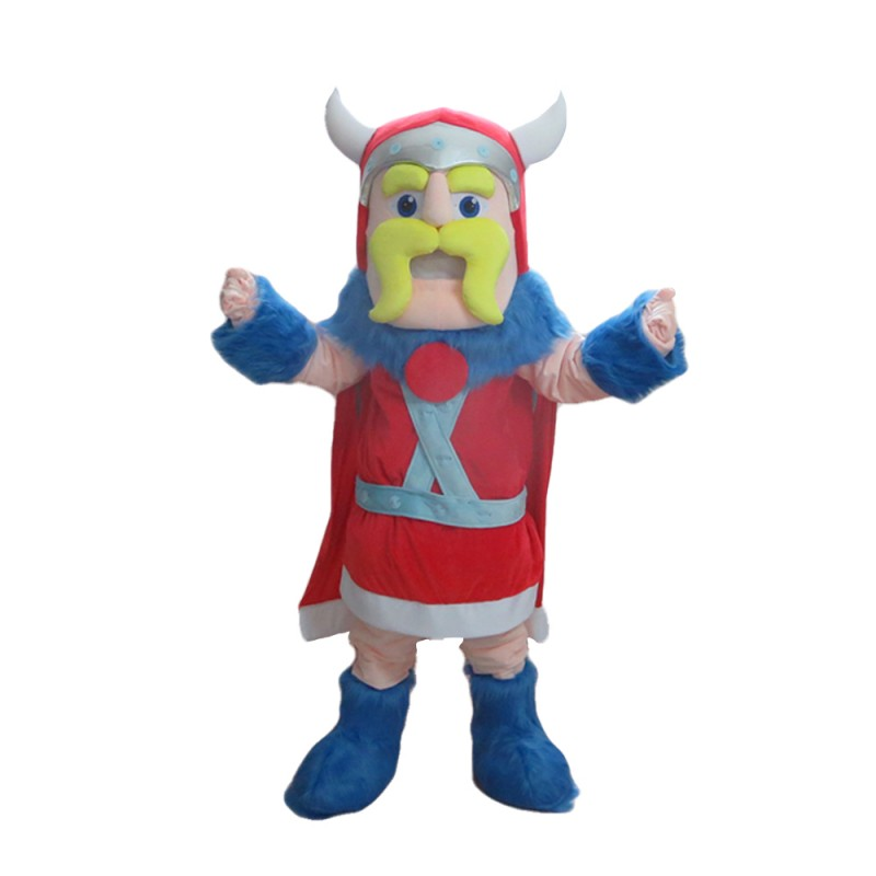 Good Quality Brave Soldier With Armor Mascot Costume