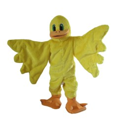 Cartoon Yellow Duck Mascot Costume For Adult