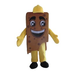 A Bite Of Chocolate Bar Mascot Costume