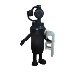 Cartoon Black Digital Camera Mascot Costume