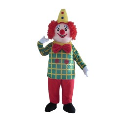 Hot Selling Colorful Clown Mascot Costume